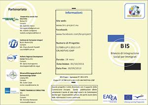 Brochure progetto Bis