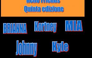 """Copertina del diario di """"Hallo Friends"""" edizione 2012"""