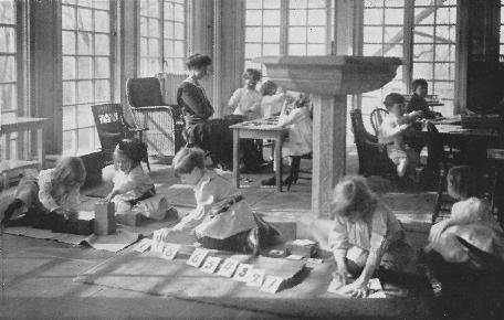 Progetto educativo Montessori