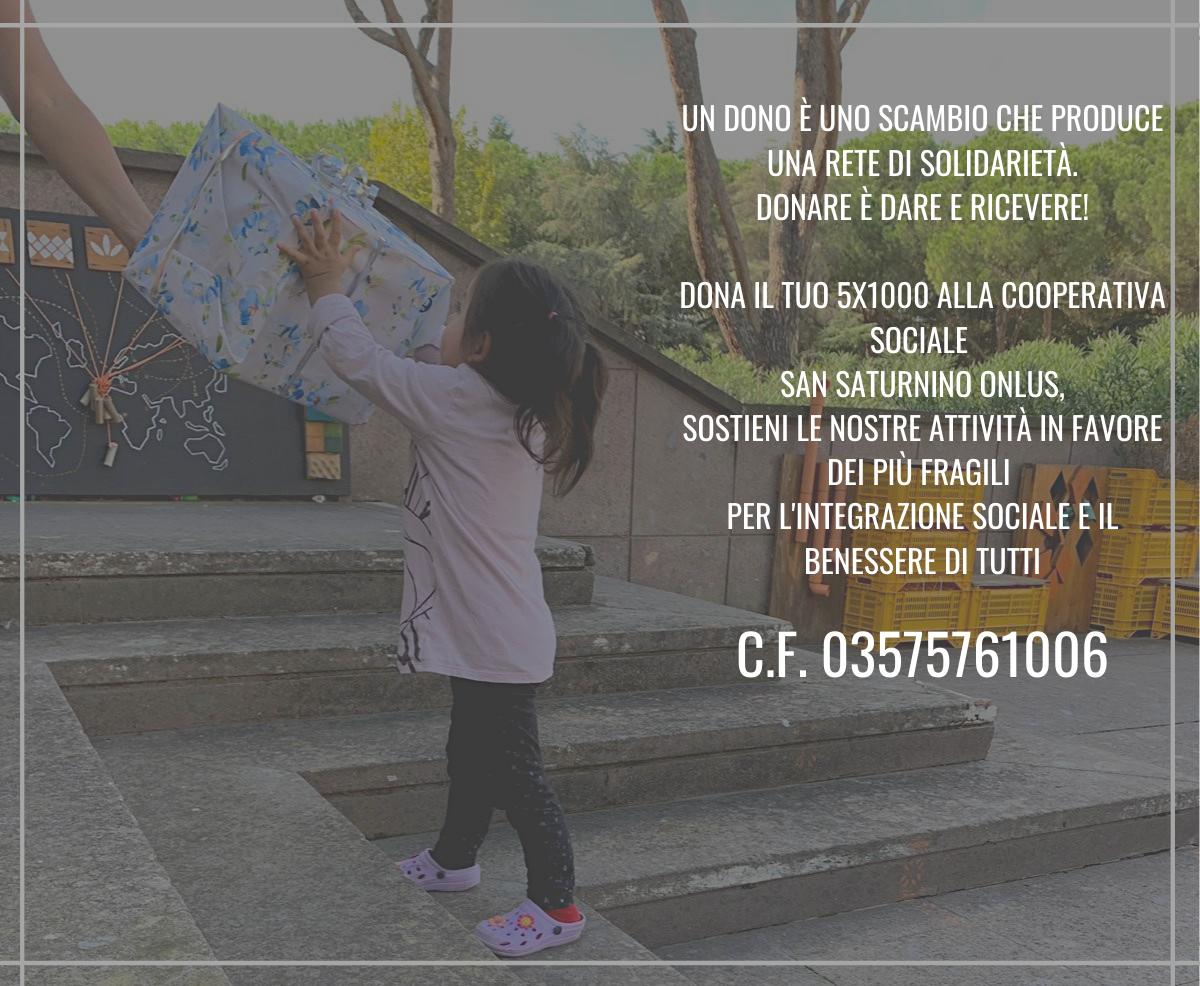 5×1000: Donare è dare e ricevere!