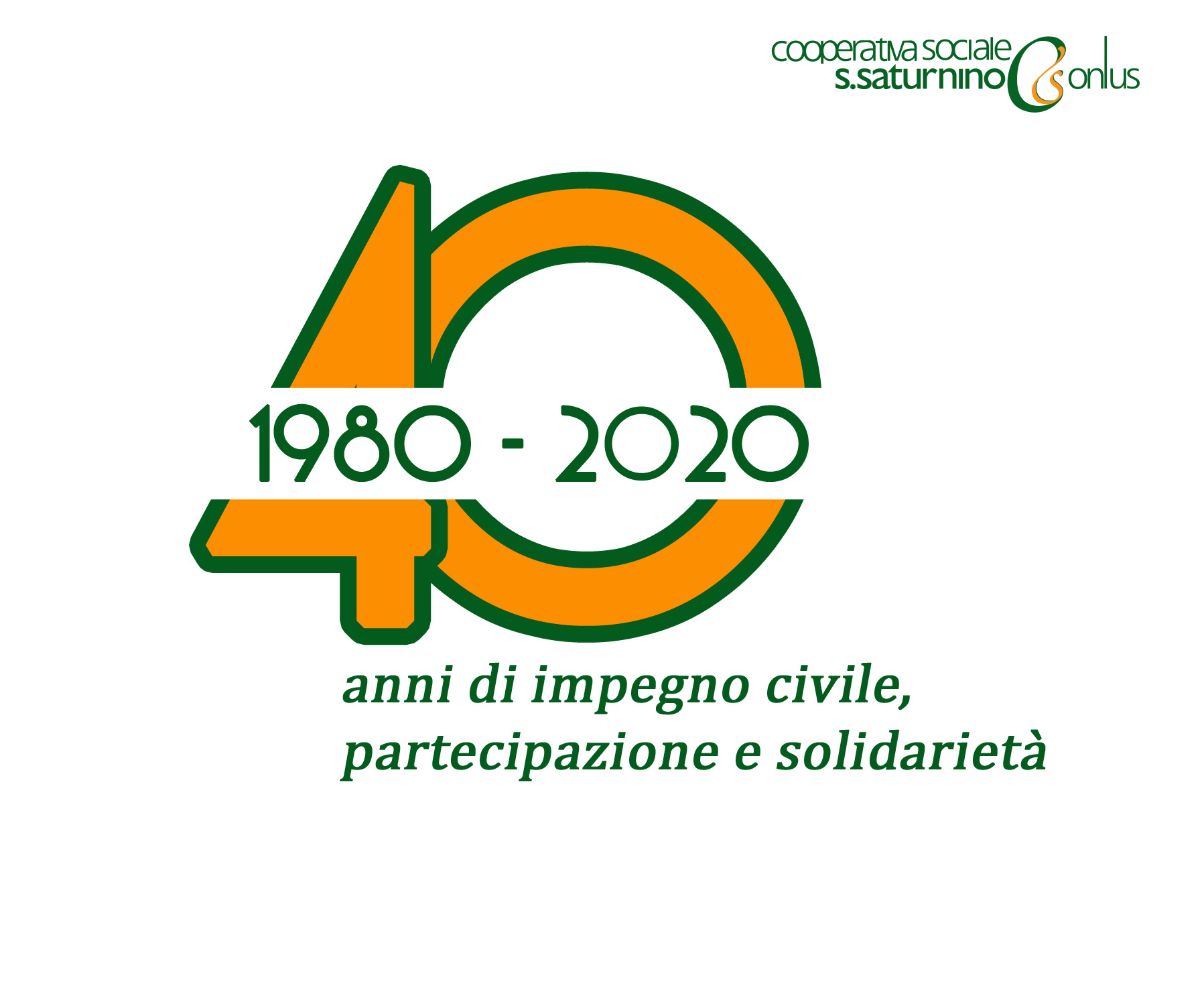 La Cooperativa Sociale San Saturnino Onlus compie 40 anni!